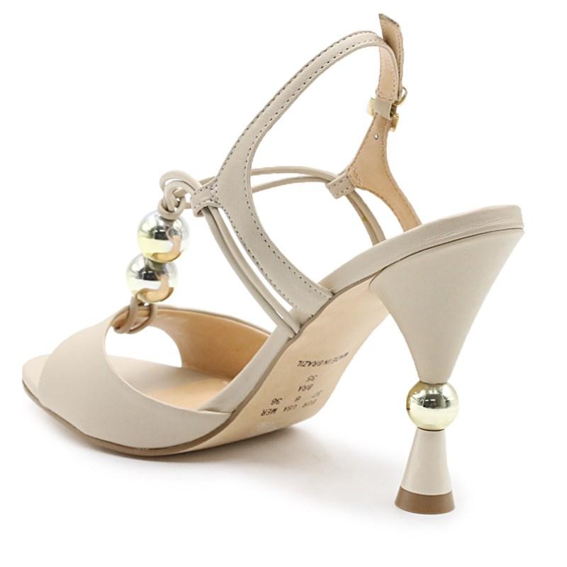 Sandália Feminina Ferrette White - 228186