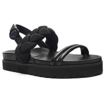 Sandalia Feminina Flat Schutz Black - 239130