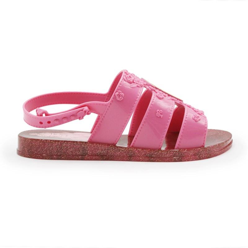 Sandalia Grendene Barbie Infantil 20197 - 243348