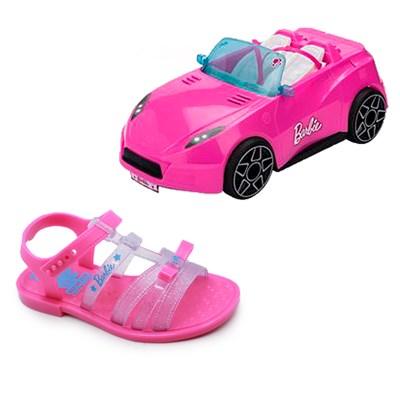 Sandália Grendene + Carrinho da Barbie (brinde) 51452 - 232327