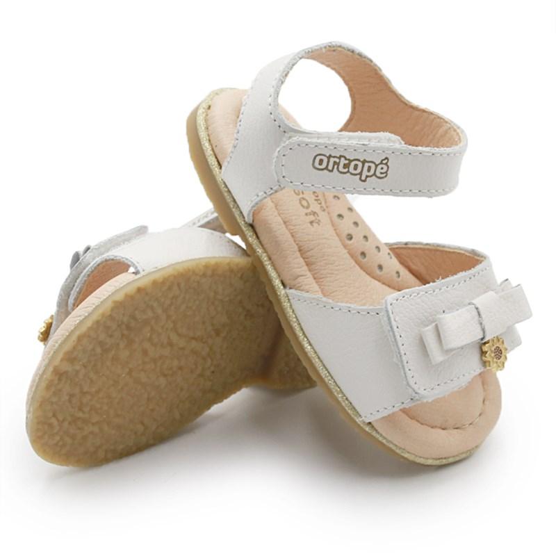 Sandalia Infantil Ortope Branco - 234744