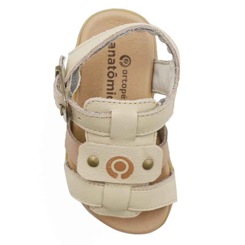 Sandalia Infantil Ortope Creme - 234650