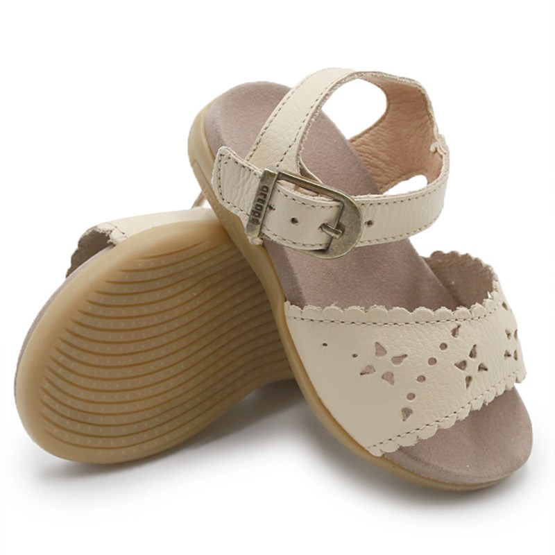 Sandalia Infantil Ortope Creme - 234758
