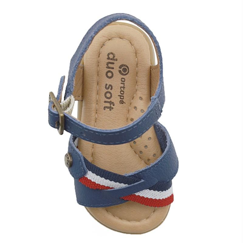 Sandalia Infantil Ortope Marinho - 234756