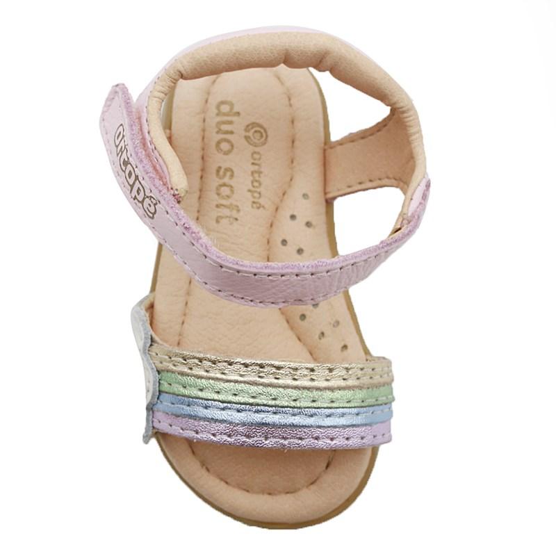 Sandalia Infantil Ortope Rosa - 234743