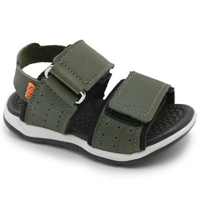 Sandalia Klin Infantil Verde/Militar - 245851