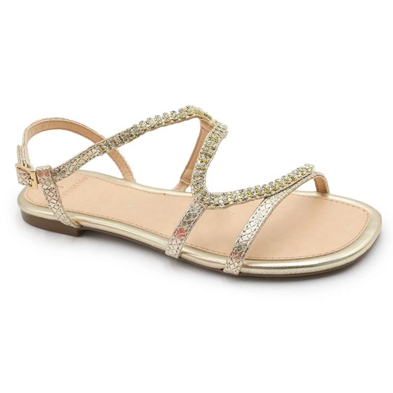 Sandalia La Femme Dourado/Metalizado - 234851