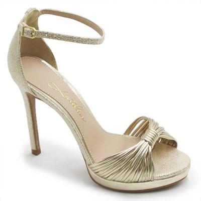 Sandalia Laterier Feminina Ouro - 236947