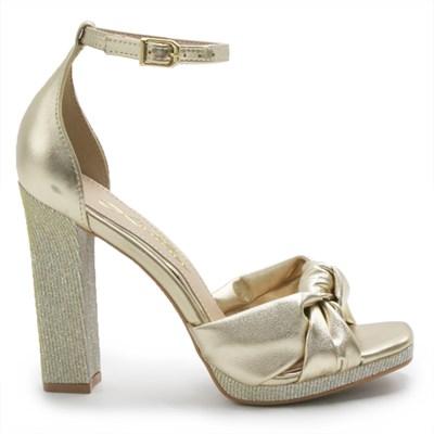 Sandalia Laterier Feminina Ouro/Dourado - 236951