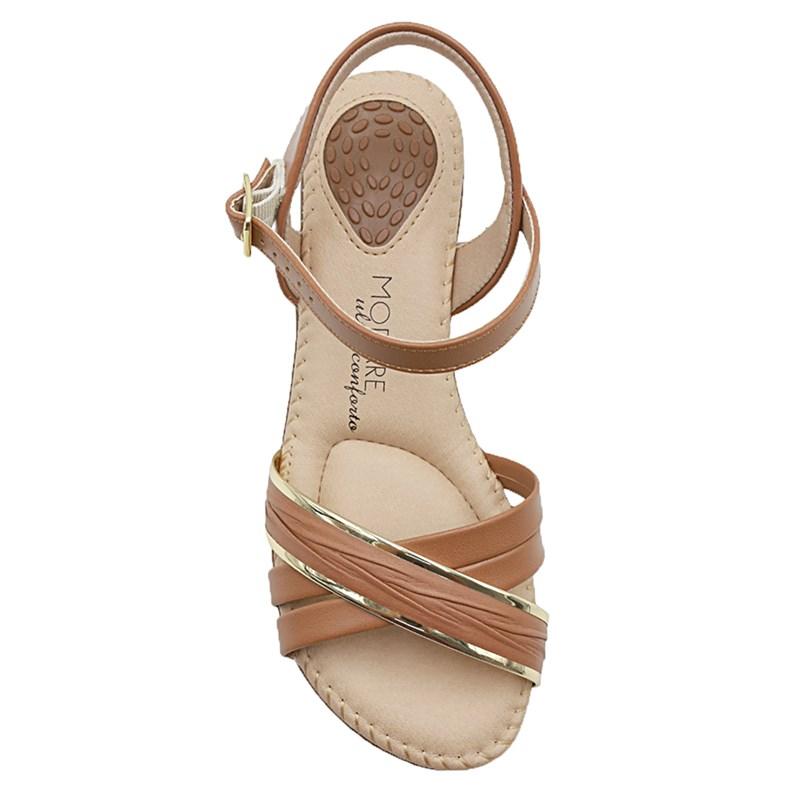 Sandalia Modare Camel/Dourado - 234329