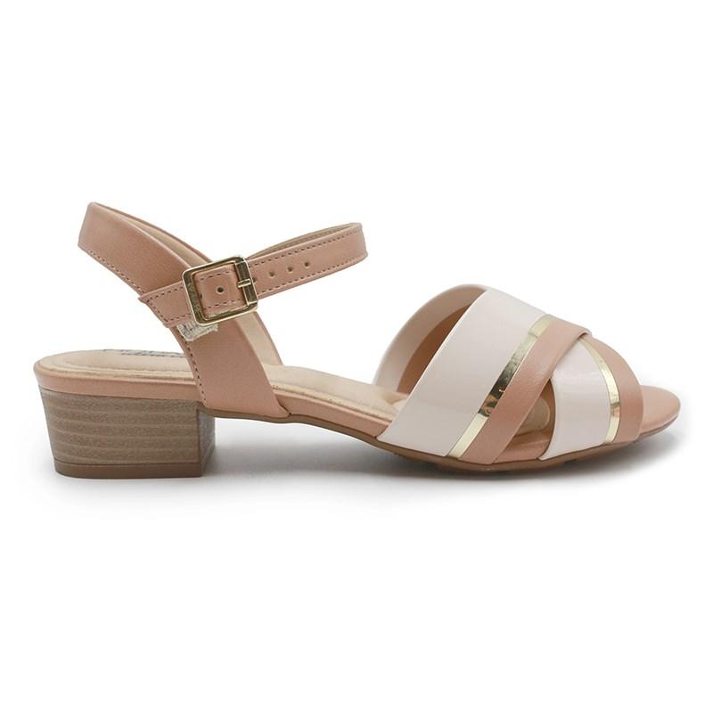 Sandalia Modare Creme/Dourado - 226512