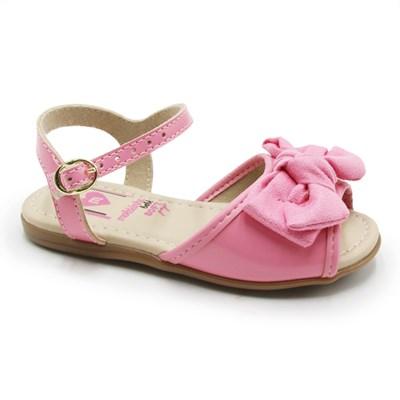 Sandalia Molekinha Infantil Rosa - 245776