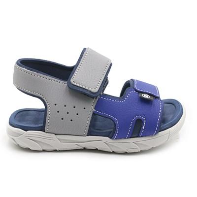 Sandalia Molekinho Cinza/Azul - 232768