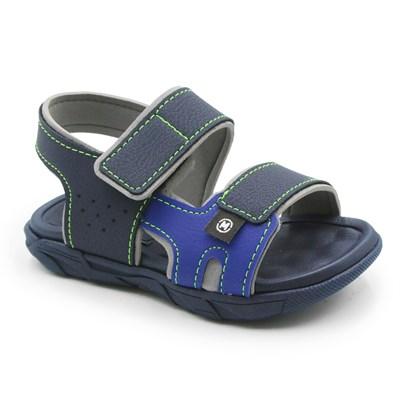 Sandalia Molekinho Infantil Marinho/Azul - 243064