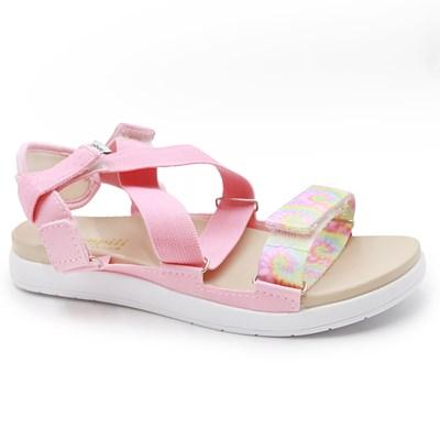 Sandalia Pampili Infantil Rosa/Colorido - 239234