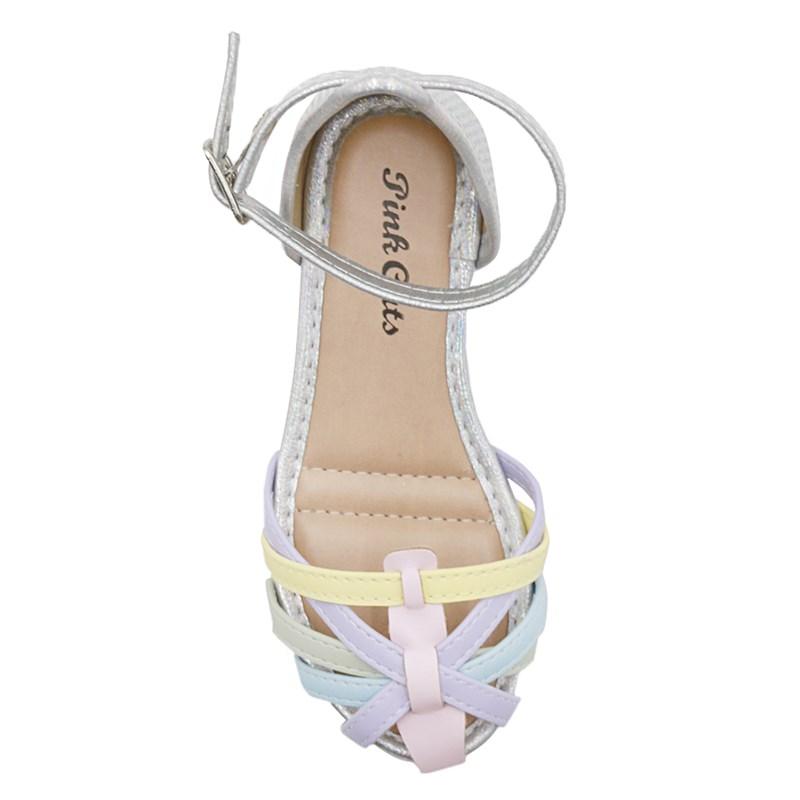 Sandalia Pinkcats Infantil Blush/Lilas - 239700