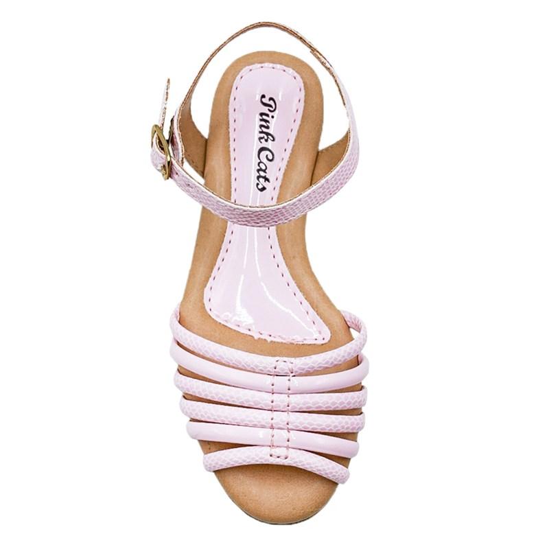Sandalia Pinkcats Infantil Rosa - 239707