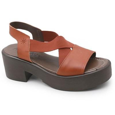 Sandalia Plataforma Aye Aye Ferrugem - 237441