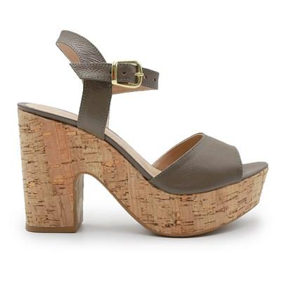 Sandalia Plataforma Ferrette Fendi - 242093