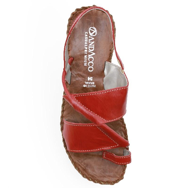 Sandalia Rasteira Andacco Rosso/Sepia - 238270