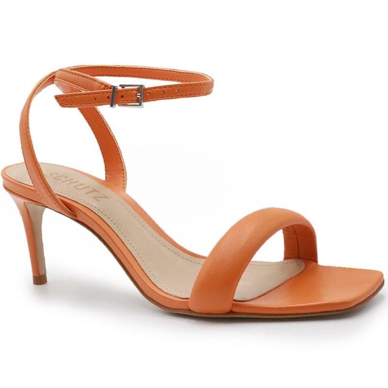 Sandalia Schutz Feminina Bright/Tangerine - 242012