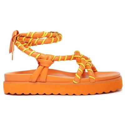 Sandalia Schutz Feminina Bright/Tangerine - 245023