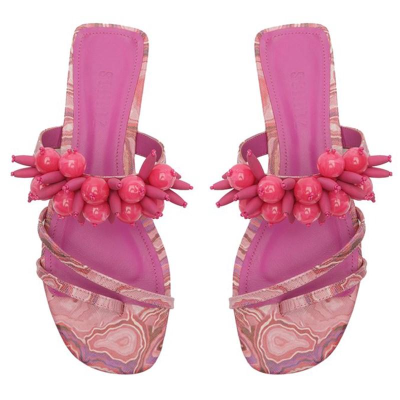 Sandalia Schutz Feminina Multi/Pink - 245921