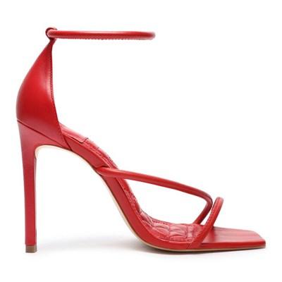 Sandalia Schutz Feminino Club Red - 240569