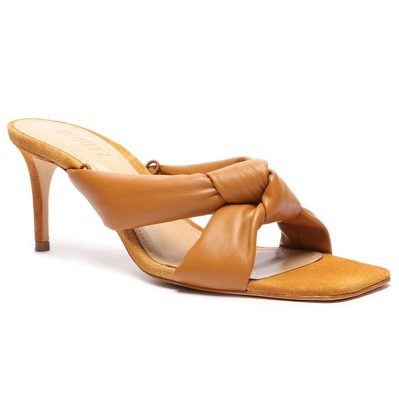 Sandalia Schutz Feminino Ochre - 241374