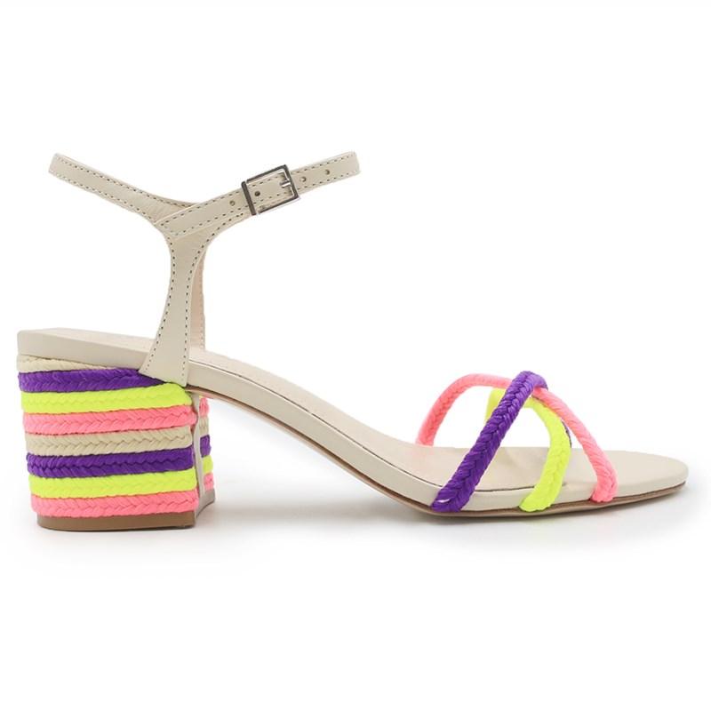 Sandalia Schutz Pink/Yellow - 238705