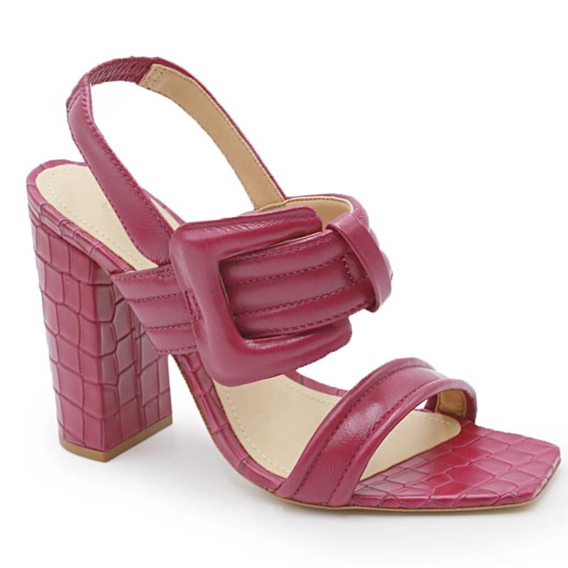Sandalia Schutz S208570028 Violet/Pink - 241458