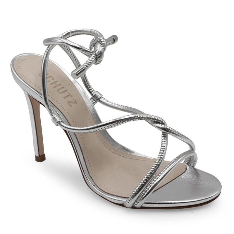 Sandalia Schutz Silver - 236613