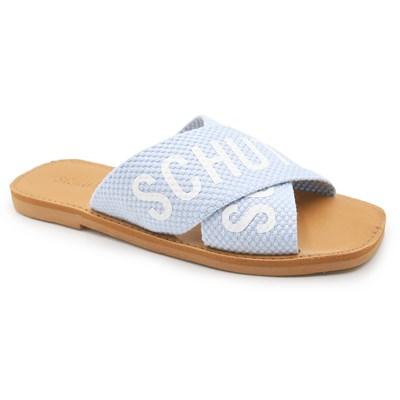 Sandalia Schutz Wonder Blue - 236588