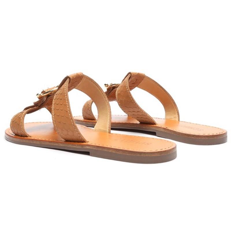 Sandalia Schutz Wood - 240562