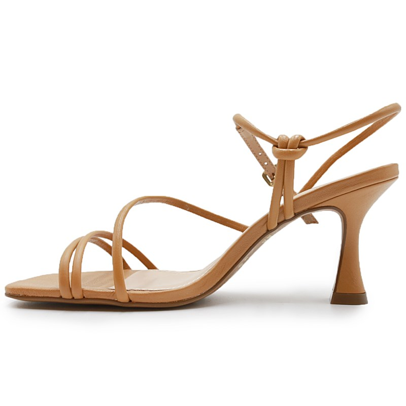 Sandalia Tabita Feminina Camel - 245834
