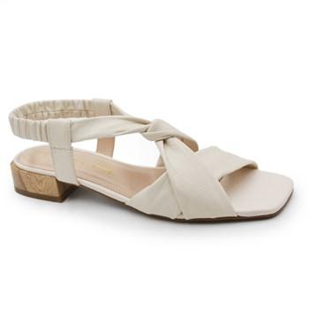 Sandalia Tabita Feminina Off White - 242534