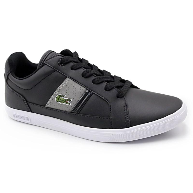 Sapatenis Lacoste Black/Grey - 230554