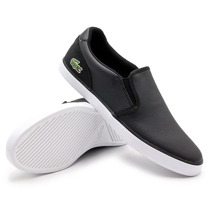 Sapatenis Lacoste Black/White - 230553