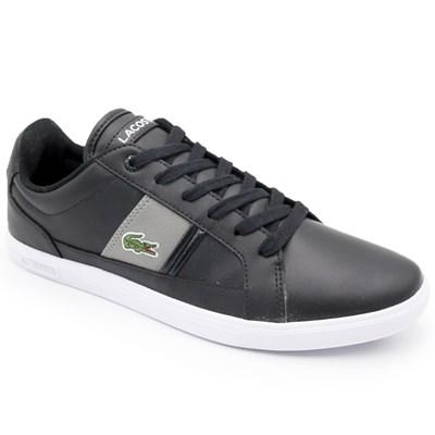 Sapatenis Lacoste Masculino Black/Grey - 237219