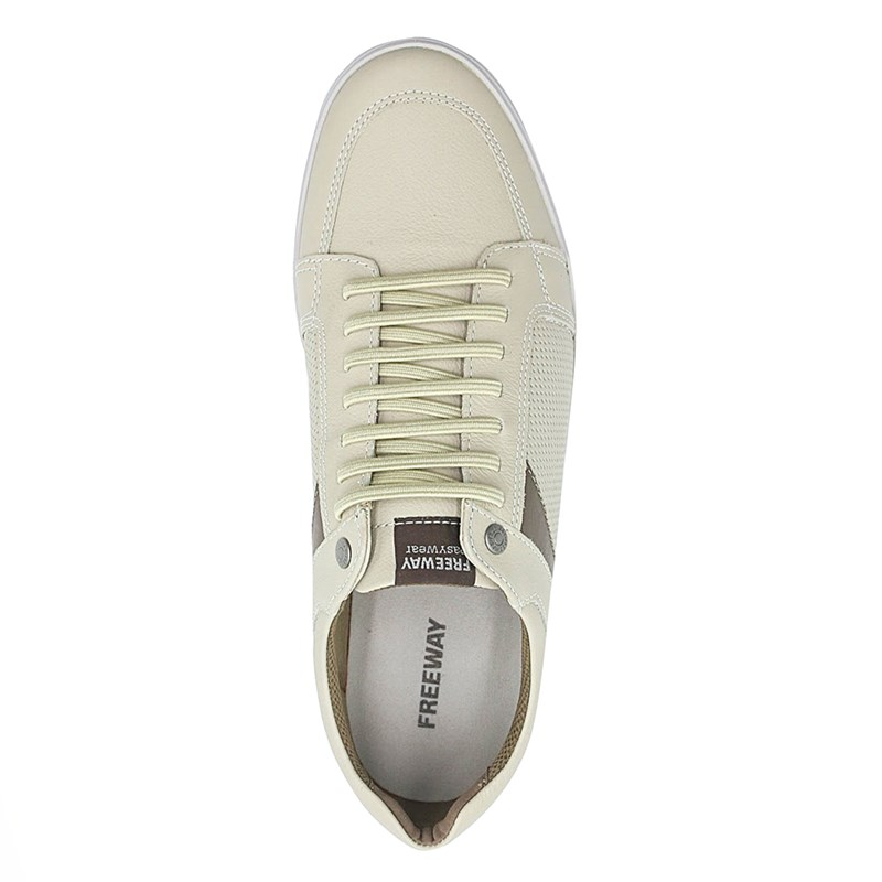 Sapatenis Masculino Freeway Off White - 230196