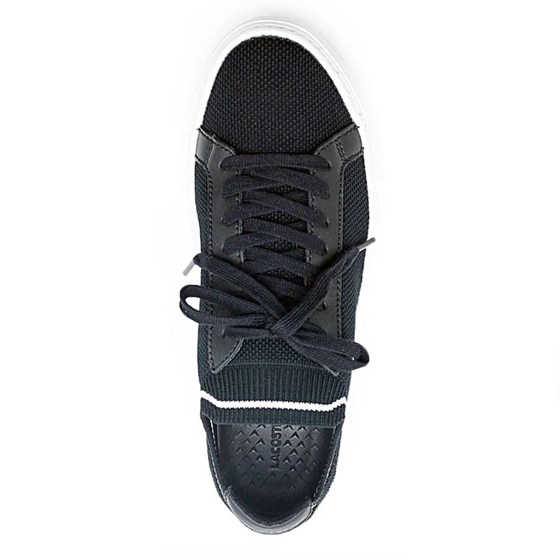 Sapatênis Masculino Lacoste Black/White - 223151