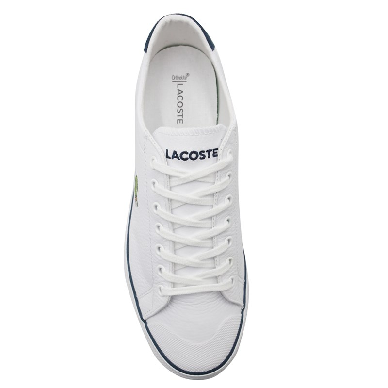 Sapatênis Masculino Lacoste White/Navy - 230549