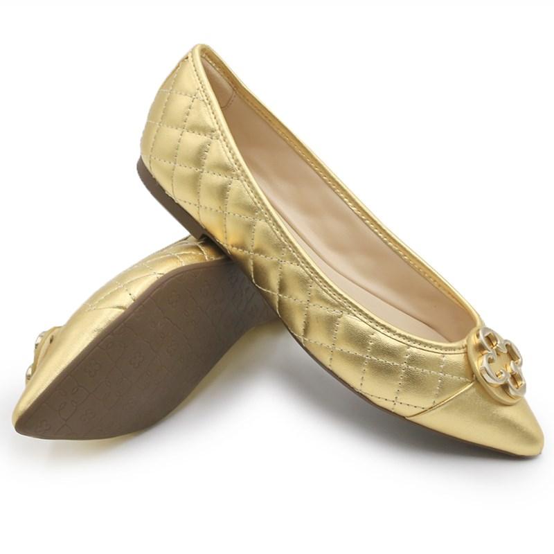 Sapatilha Capodarte Ouro Claro - 234176
