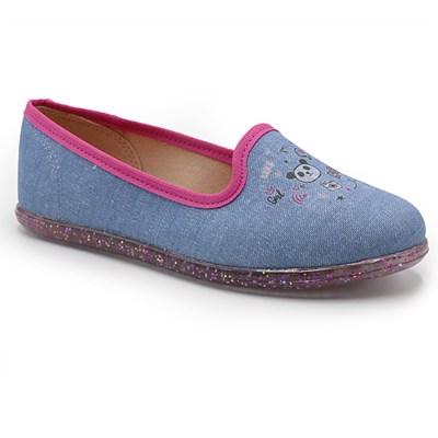 Sapatilha Infantil Molekinha Jeans - 232762