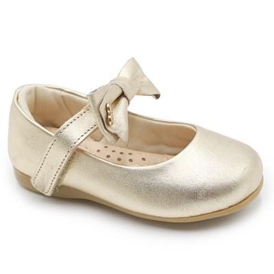 Sapatilha Infantil Ortope Ouro - 234751