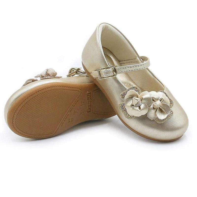 Sapatilha Infantil Pampili Dourado - 226833