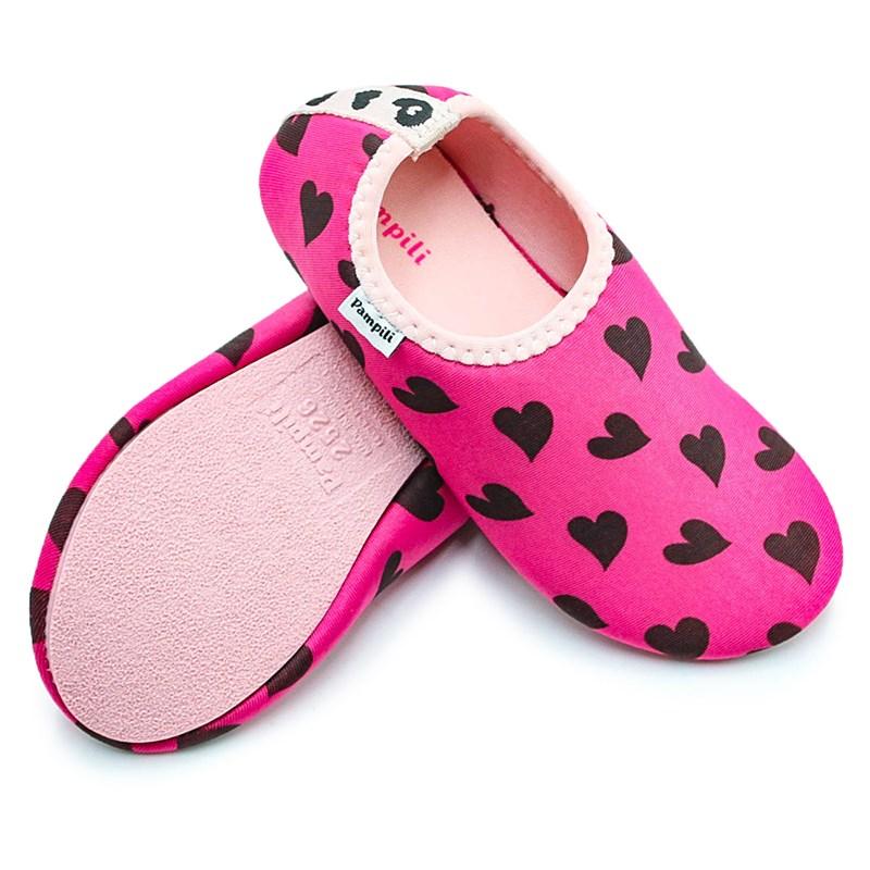 Sapatilha Infantil Pampili Pink/Preto - 232686