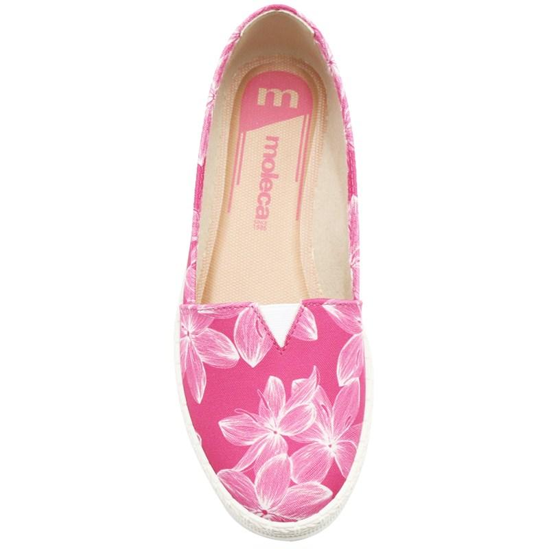 Sapatilha Moleca Feminina Multi/Pink - 242376