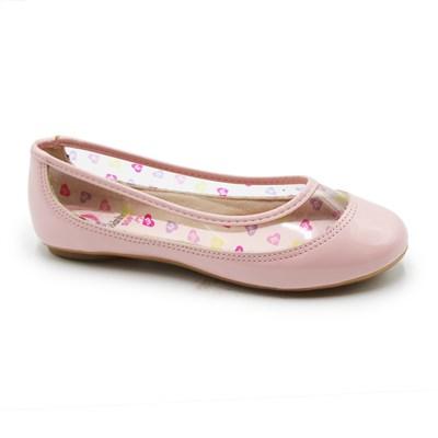 Sapatilha Molekinha Infantil Rosa/Transparente - 245688