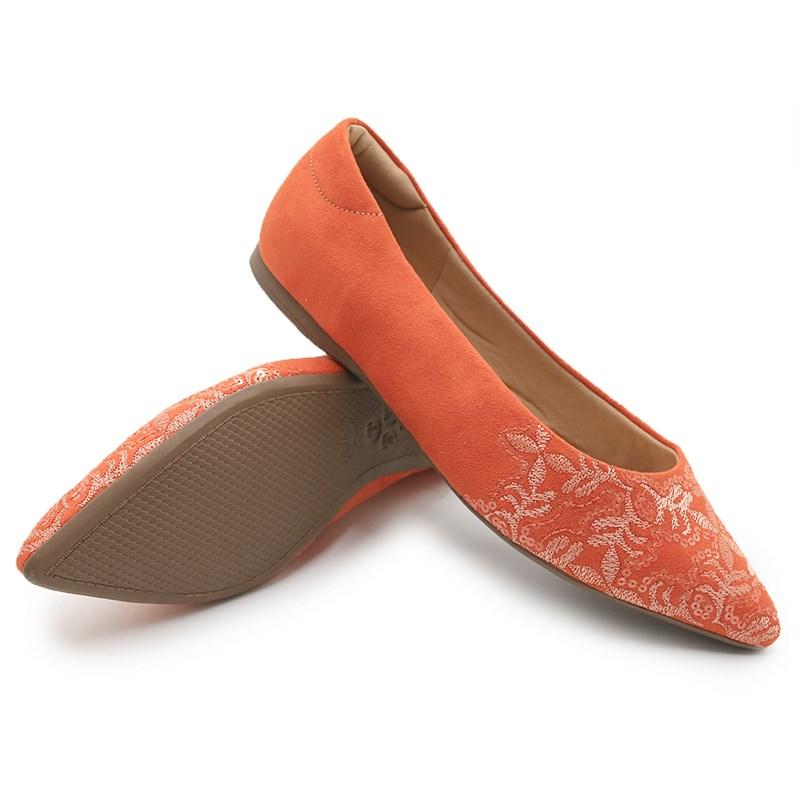 Sapatilha Valentina Orange/Multi - 235005
